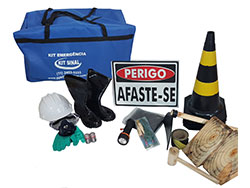 Kit de emergencia NBR 9734/9735